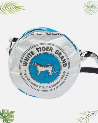 Sac à main Rond Tigre Recyclé