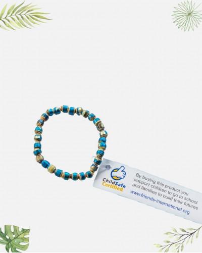 Bracelet fantaisie recyclé...
