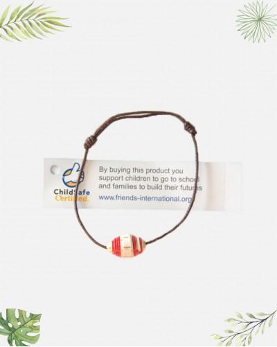 Bracelet fantaisie recyclée...