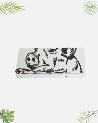 Porte-feuille Recyclé Cochon