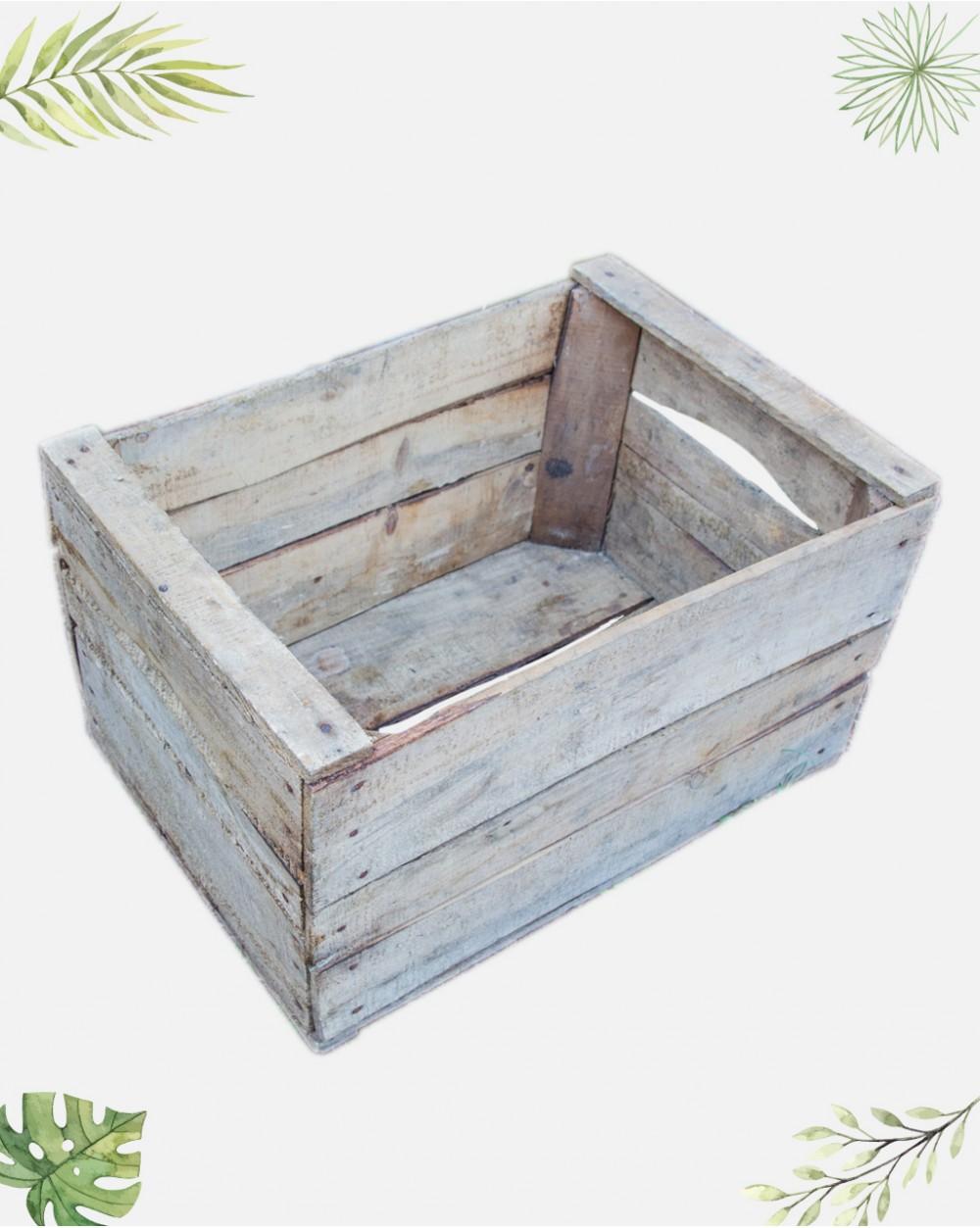 Caisse De Pomme Vide brute - ancienne caisse à pommes